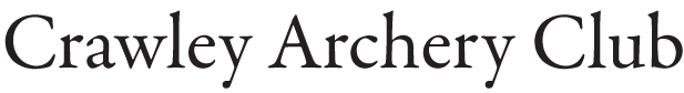 crawley archery club main logo